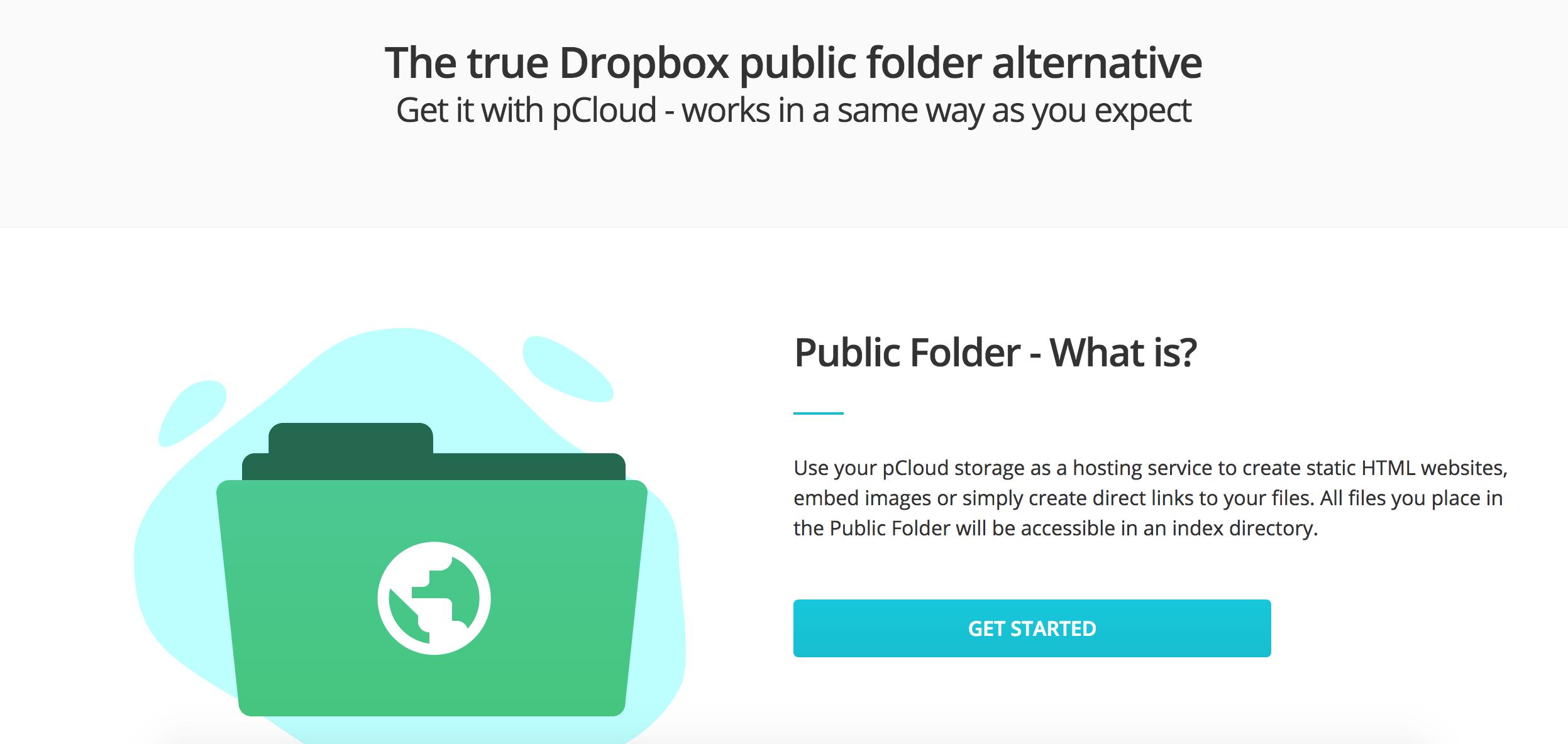 Dropbox Hosting